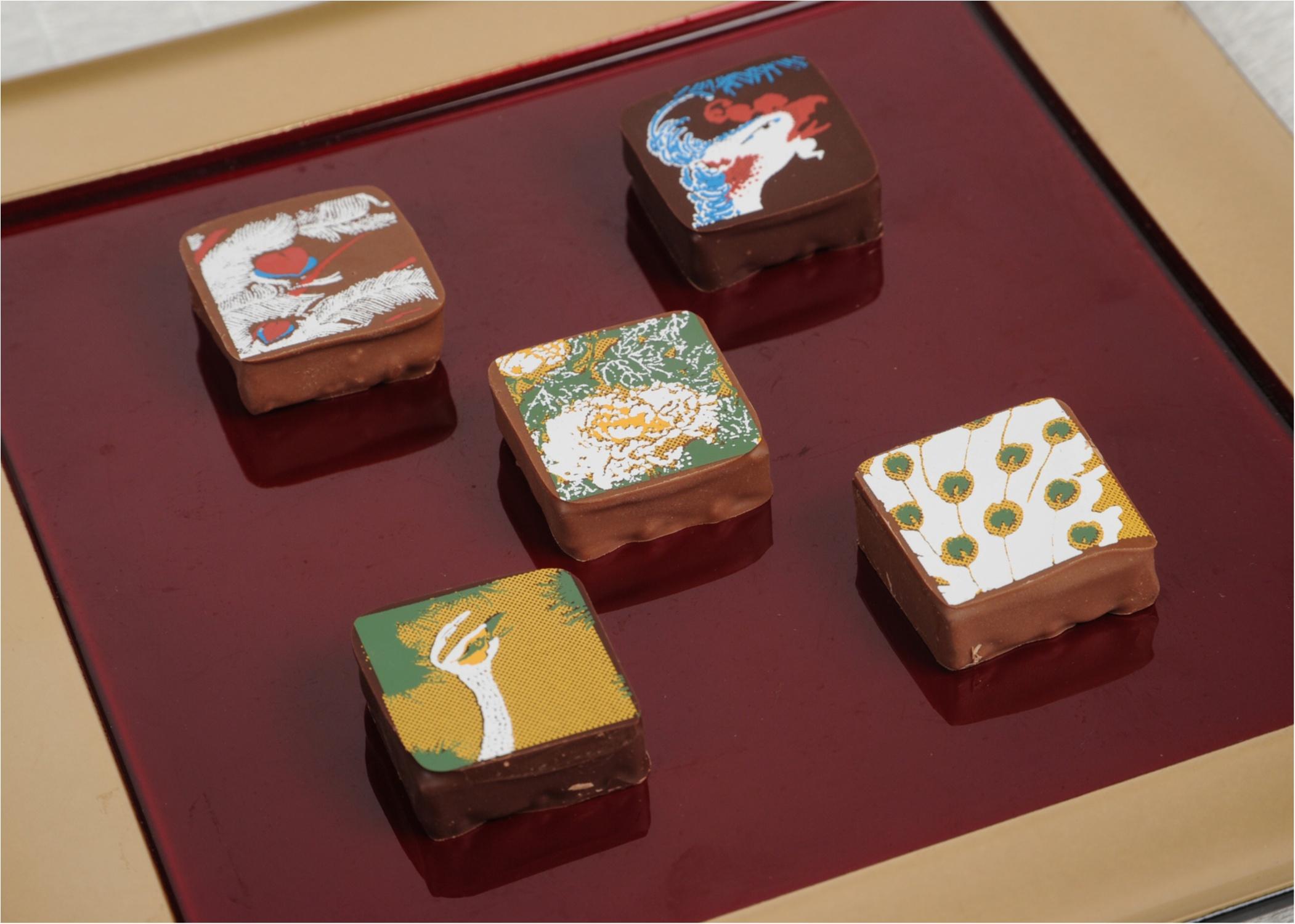 東京で買えるのは今だけ☆ 箱根の『岡田美術館』オリジナルの和チョコレートがクールすぎる……!_2_2