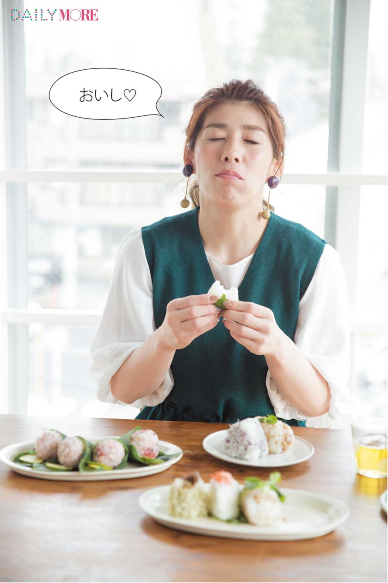 【吉田沙保里さんの「お弁当女子」チャレンジ!】かわいくておいしい「乙女おにぎり」は作れたの!?【#モアチャレ リポート】_1_6