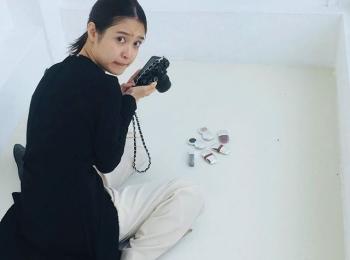 #松本愛 ちょこんと座った姿も可愛い愛ちゃん♡【MORE SMILEUP CHALLENGE 22】