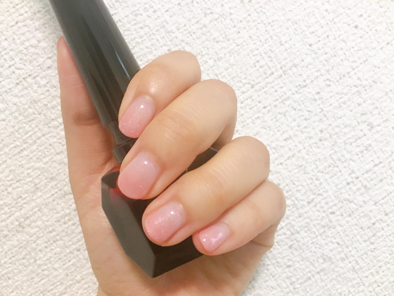 【夏ネイル・マニキュア】シンプルを楽しめるグラデーションネイル_1