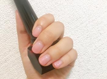 【夏ネイル・マニキュア】シンプルを楽しめるグラデーションネイル
