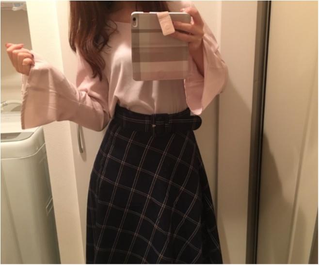 今年の流行!♥ミディ丈スカートで作る♡通勤コーデ4選(っ´ω`c)♡_5