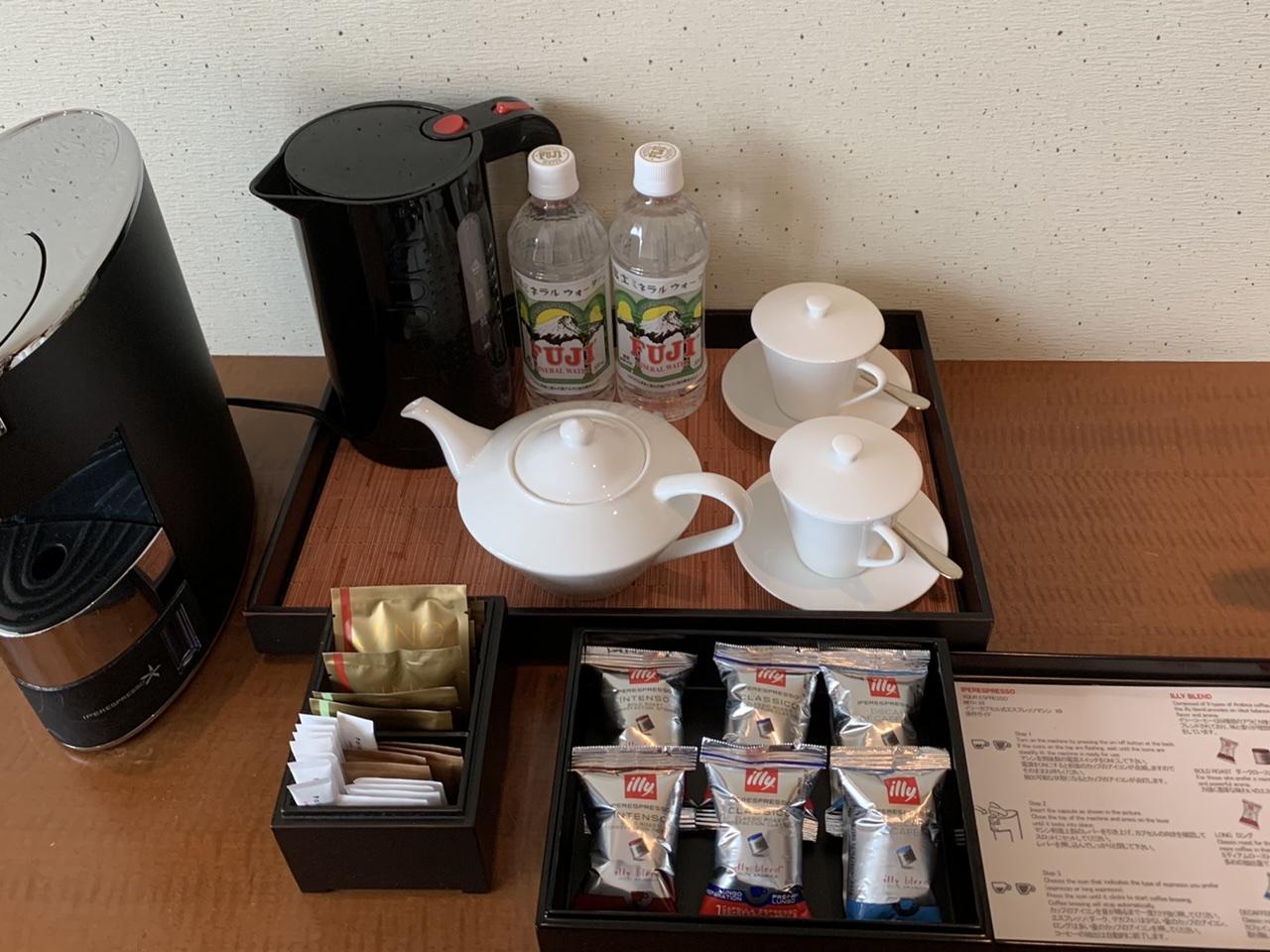 コーヒーと紅茶も
