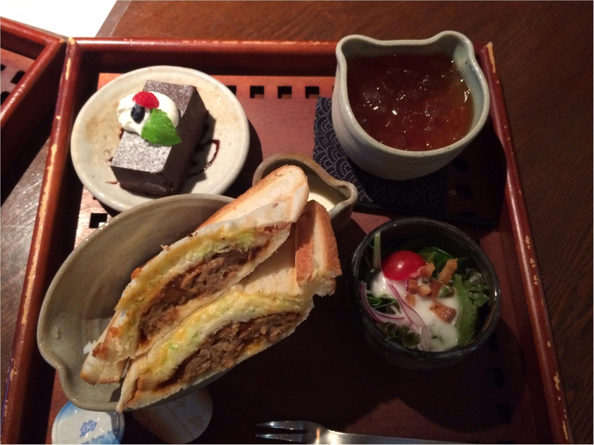食器が可愛い大阪カフェ(・㉨・)_1