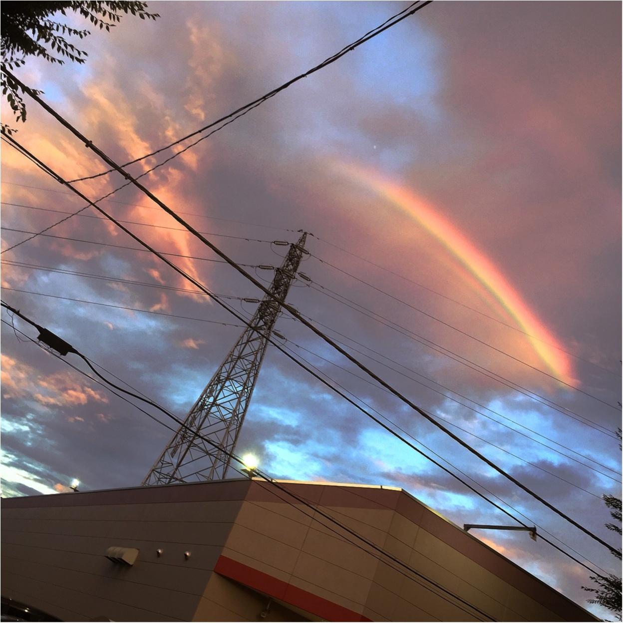 虹が...✨✨_6