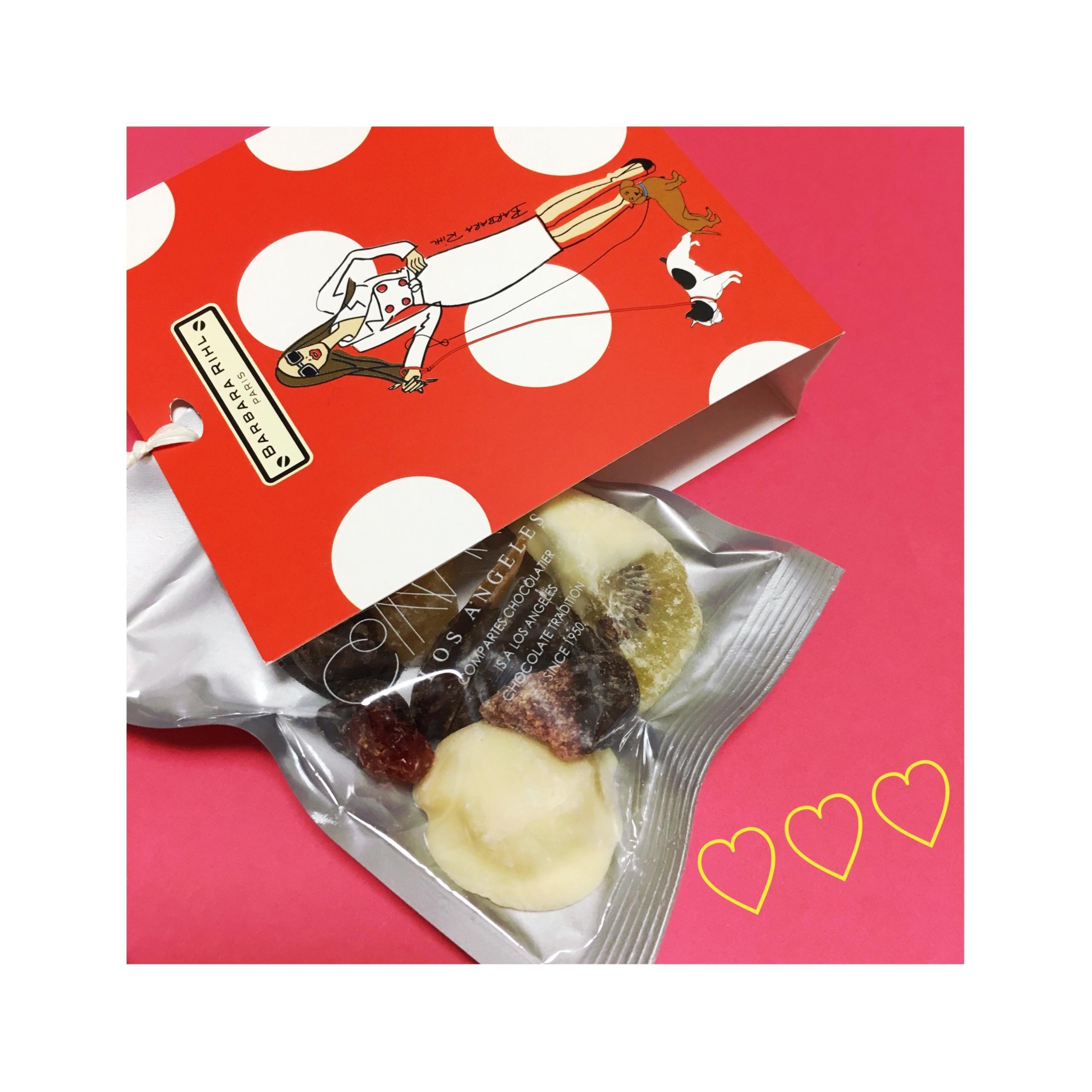 《予算¥648以内?!驚きのコスパ★》LA発チョコレート【コンパーテス】×【VIA BUS STOP】のバレンタイン限定商品が可愛すぎるっ❤️_3
