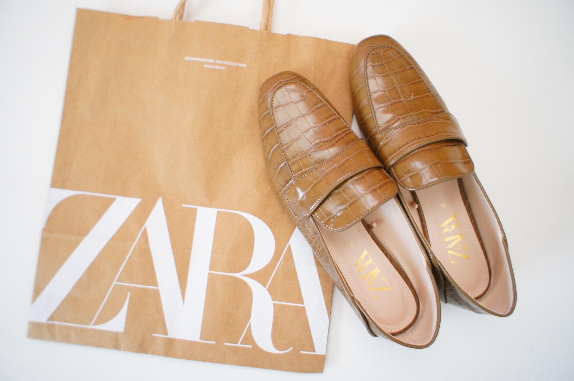 《#ザラジョ 必見❤️》まさかの40%オフ!【ZARA】のsaleで購入したローファー☻_1