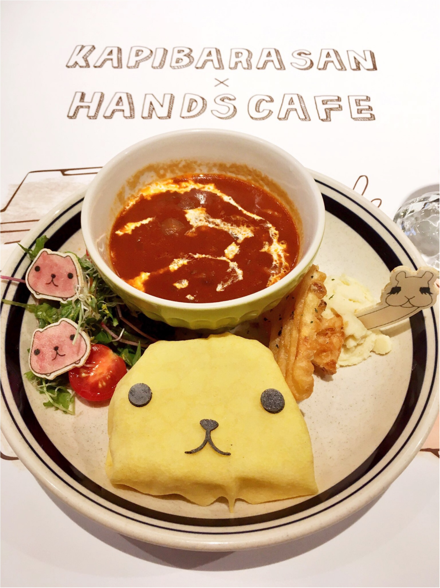 『KAPIBARASAN×HANDS CAFE』@東急表参道原宿店♡りぃイチオシメニューのご紹介(∗•ω•∗)♡_4