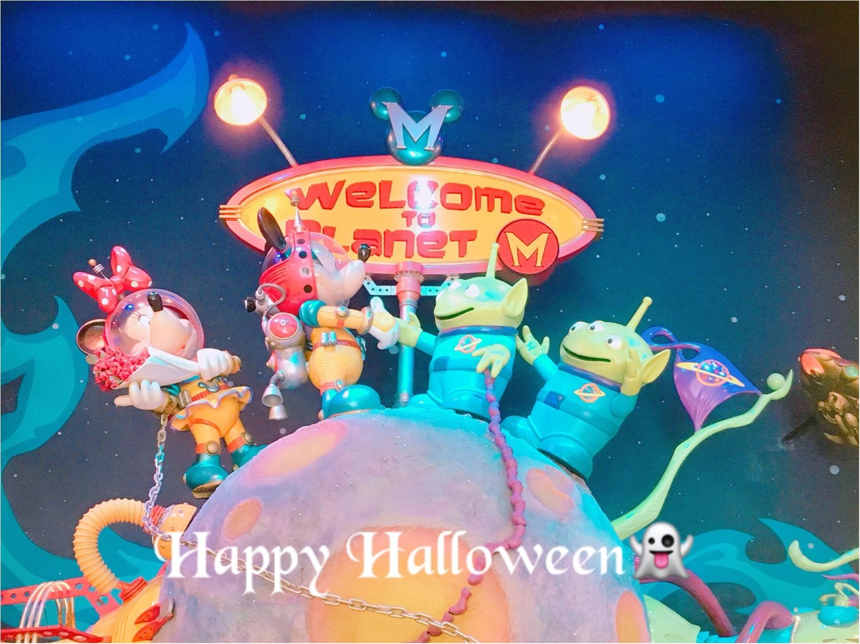 ▷【Disney Halloween2018】綺麗な宇宙のお姉さんになりきってみた☆_1