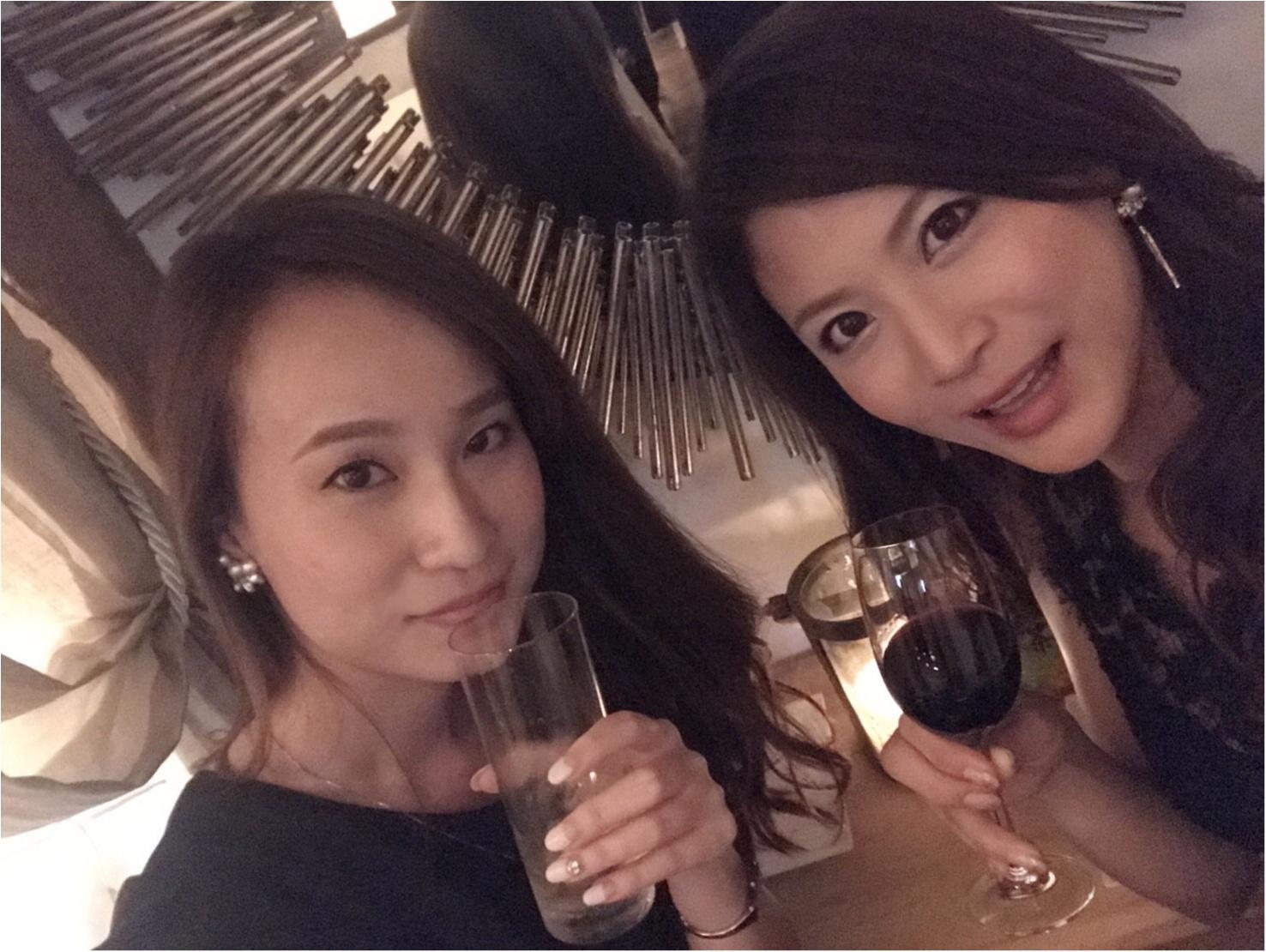 シャンパン女子会♡inブラックテラス_1