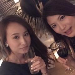 シャンパン女子会♡inブラックテラス