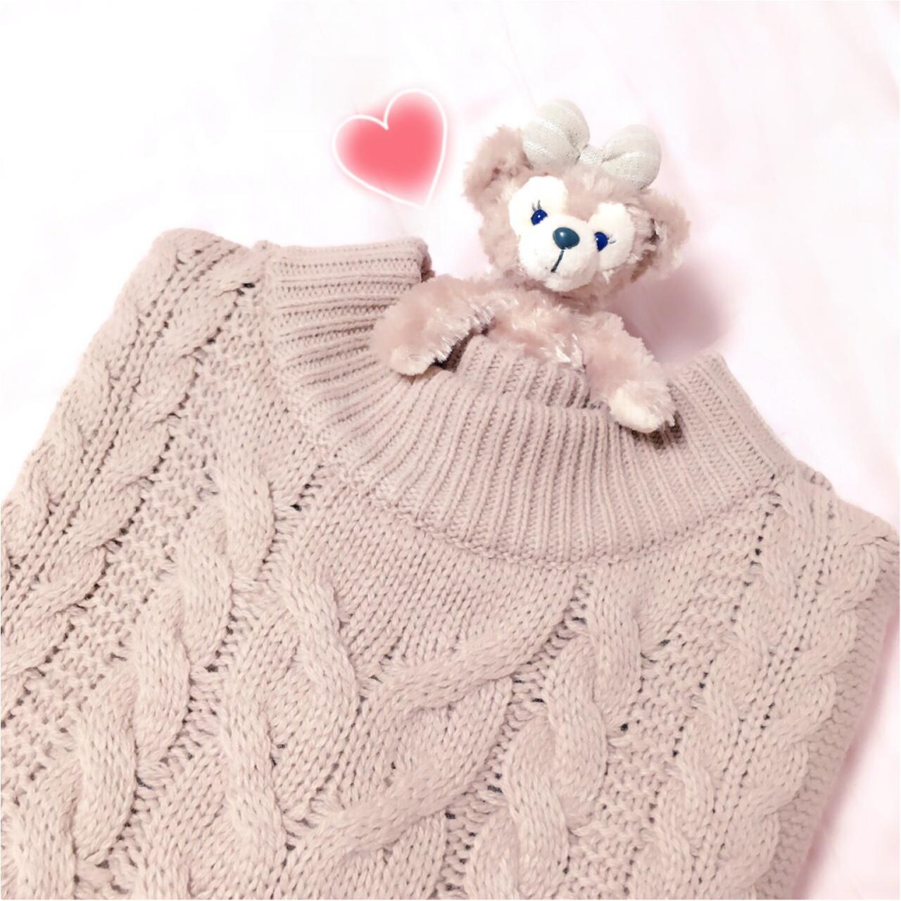 【ユニクロ】の【ケーブル編みニットワンピ】で寒い冬もあったかく♡_1