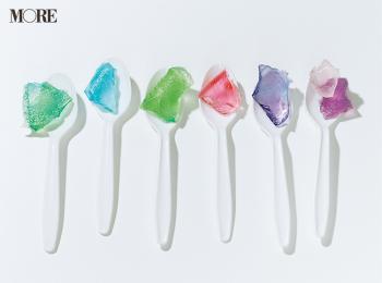 かき氷用シロップで簡単に! カラフルな琥珀糖のレシピ