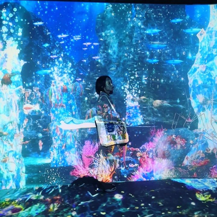 「OCEAN BY NAKED 光の深海展」デジタルアートで手軽に癒しと映え♡_4