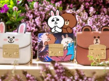 『フルラ』がLINE FRIENDSのコレクションを発表! 耳つきバッグやカードケースetc.4/23(金)発売