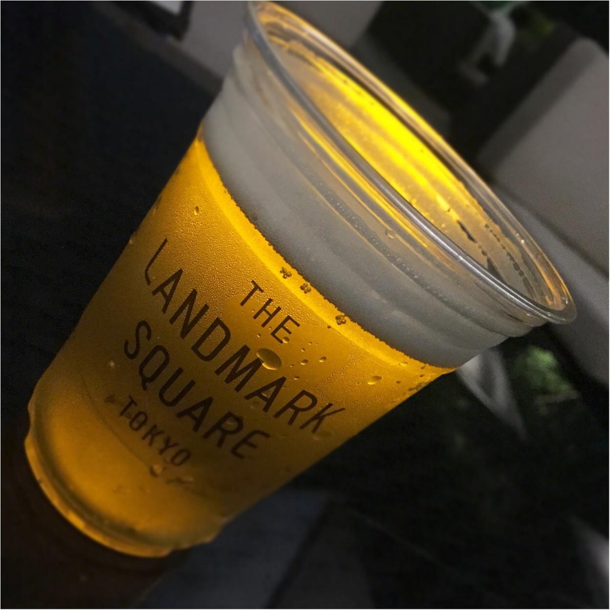 料理も最高♡1ランク上のビアガーデンで優雅なひとときを過ごすなら✨バースデーサプライズにもお薦め♪【THE LANDMARK SQUARE TOKYO】_8