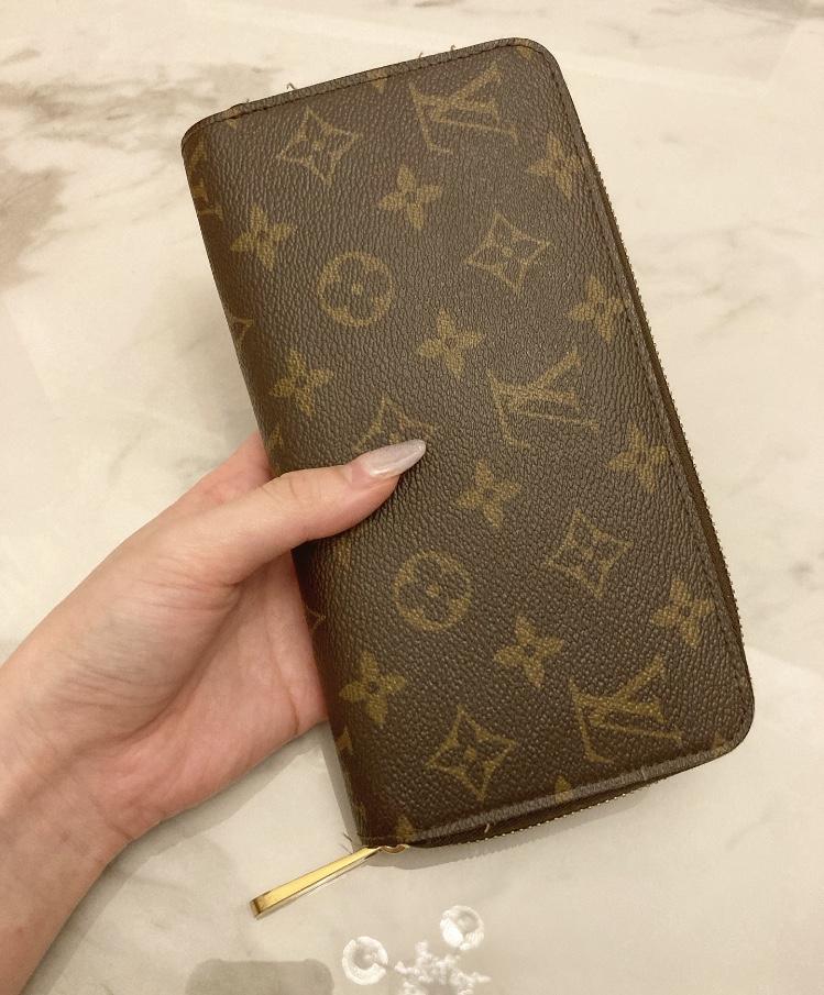 【20代女子の愛用財布】LOUIS  VUITTONの長財布×COACHのミニ財布を使い分け♡_2
