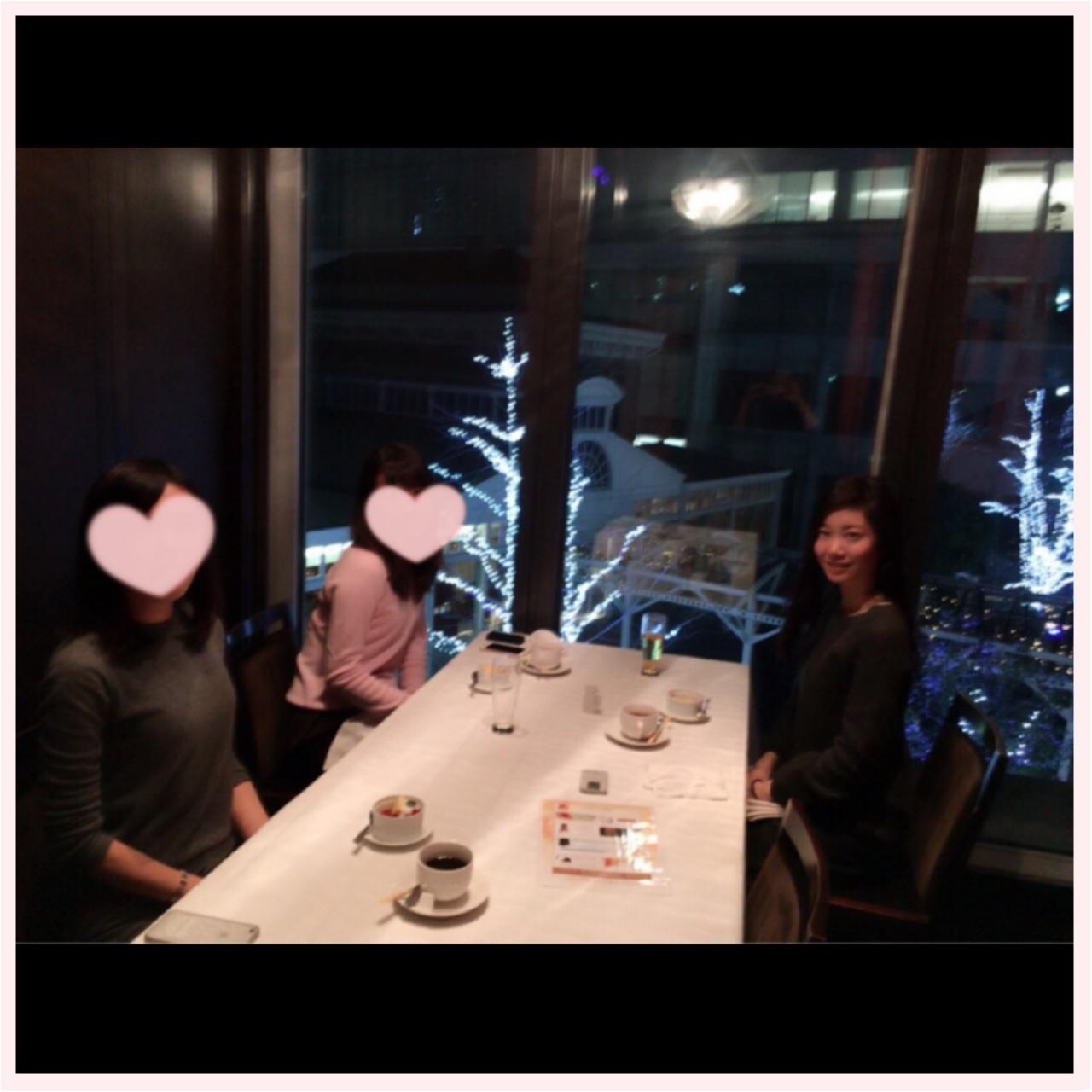 忘年会♡♡♡汐留でイルミネーションを見ながらディナーしたよ♪♪_3