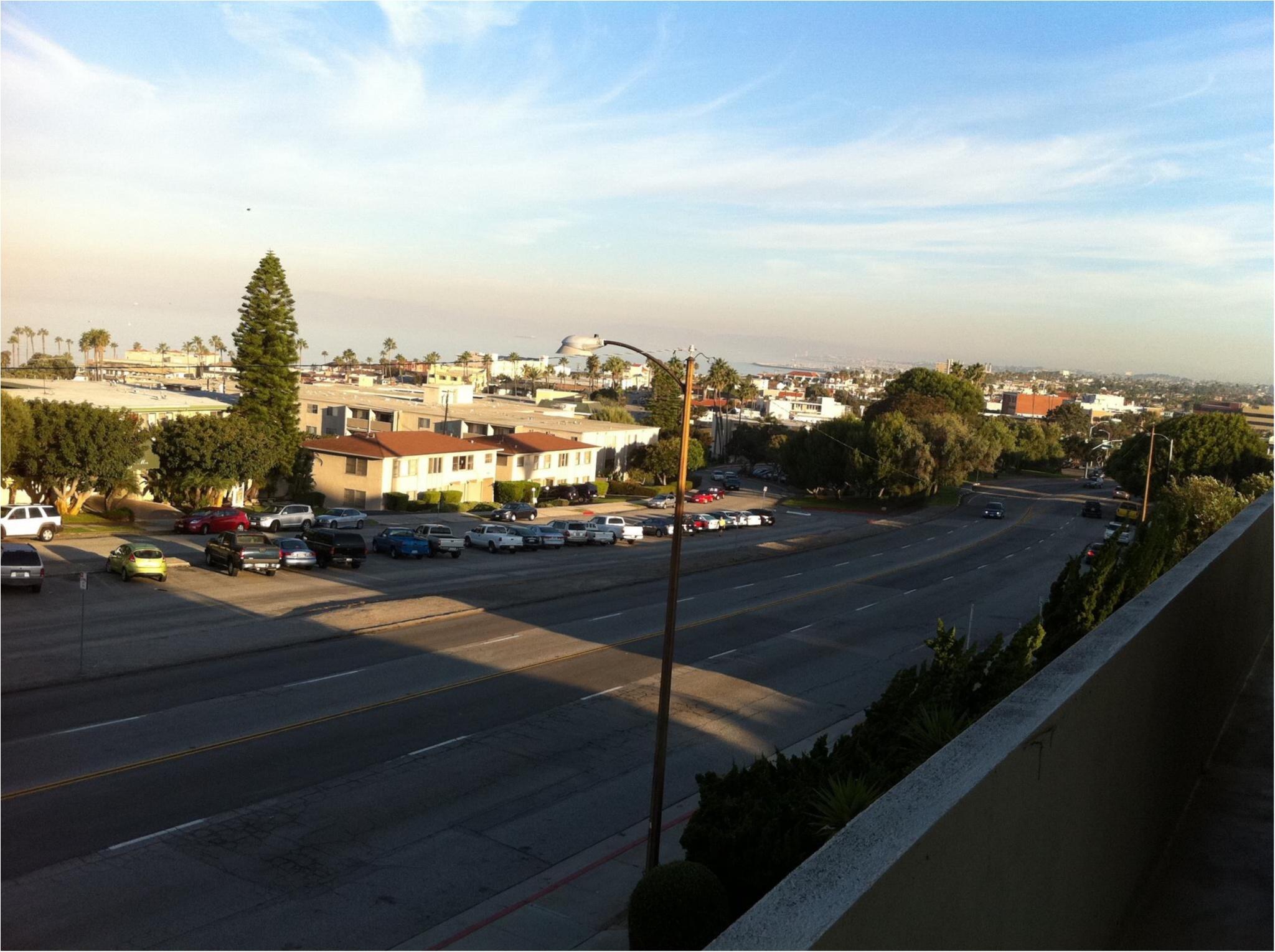 写真でも、きっと伝わるこの魅力✨朝から晩まで眺めた《*ロサンゼルスの広い空*》_4