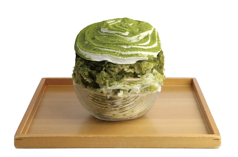 『茶氷プロジェクト』、浜松市『HARUICHI STYLE』の「静岡抹茶かき氷」