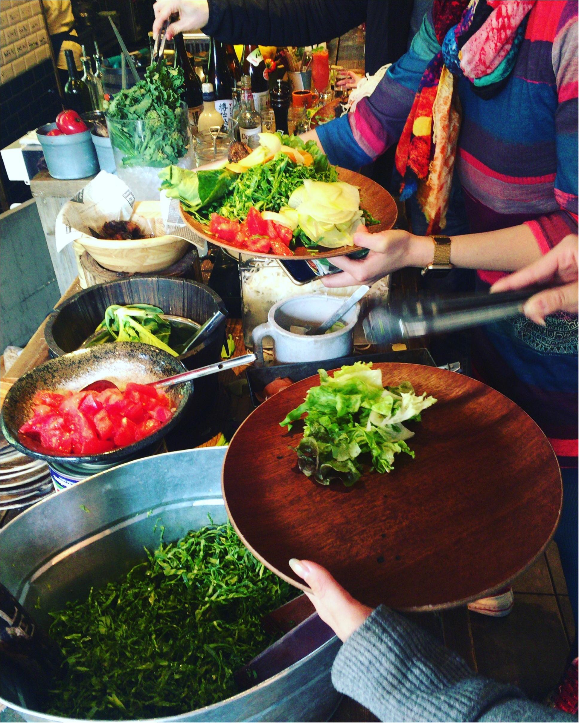 【恵比寿】オーガニック野菜を好きなだけ食べられるサラダランチが¥1,300!メインディッシュ+パン+スープ付き♡≪samenyan≫_6
