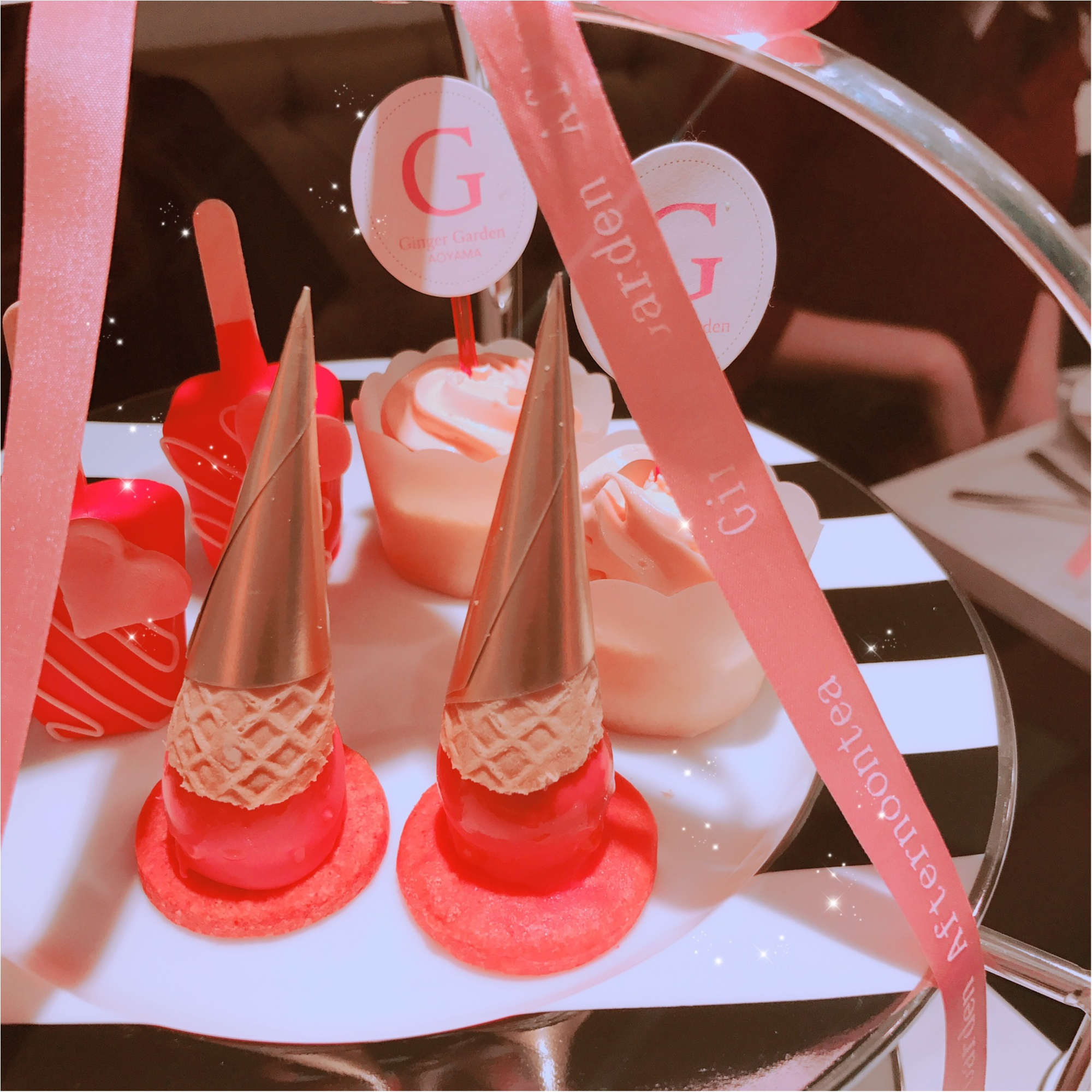 土日祝限定!完全予約制、ジンジャーガーデン青山のピンクアフタヌーンティーが可愛すぎる!_6