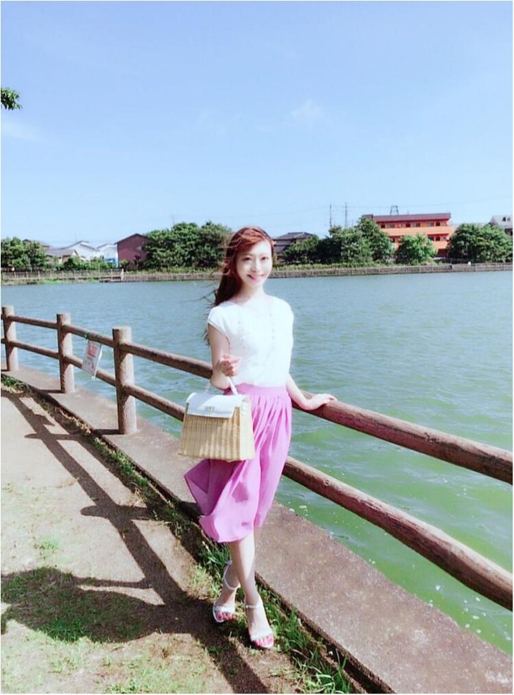 今流行りのカラースカート♡大人可愛く着るコツとは?٩(๑❛ᴗ❛๑)۶_3