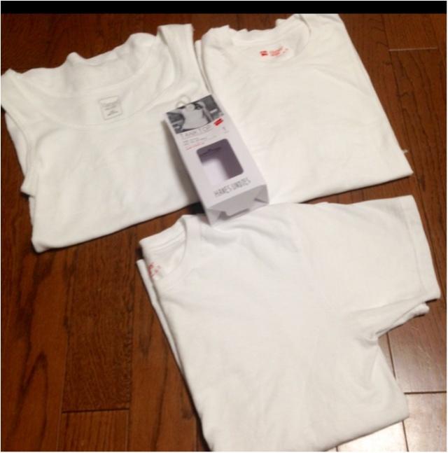 【DIY】人気のHanesTシャツを、自分サイズに♡かつ今年っぽくアレンジ♪( ´θ`)ノ_1