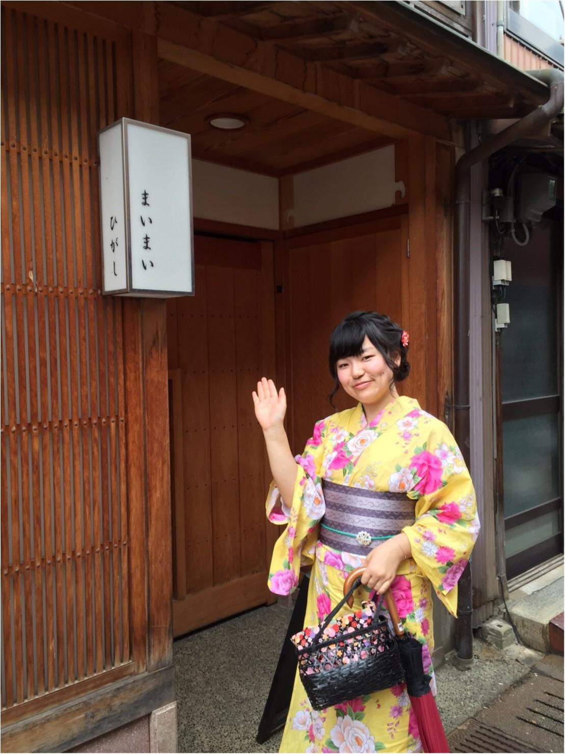 《週末金沢旅》浴衣で風情を感じながら金沢を街歩き〜兼六園・ひがし茶屋街〜♡*_8