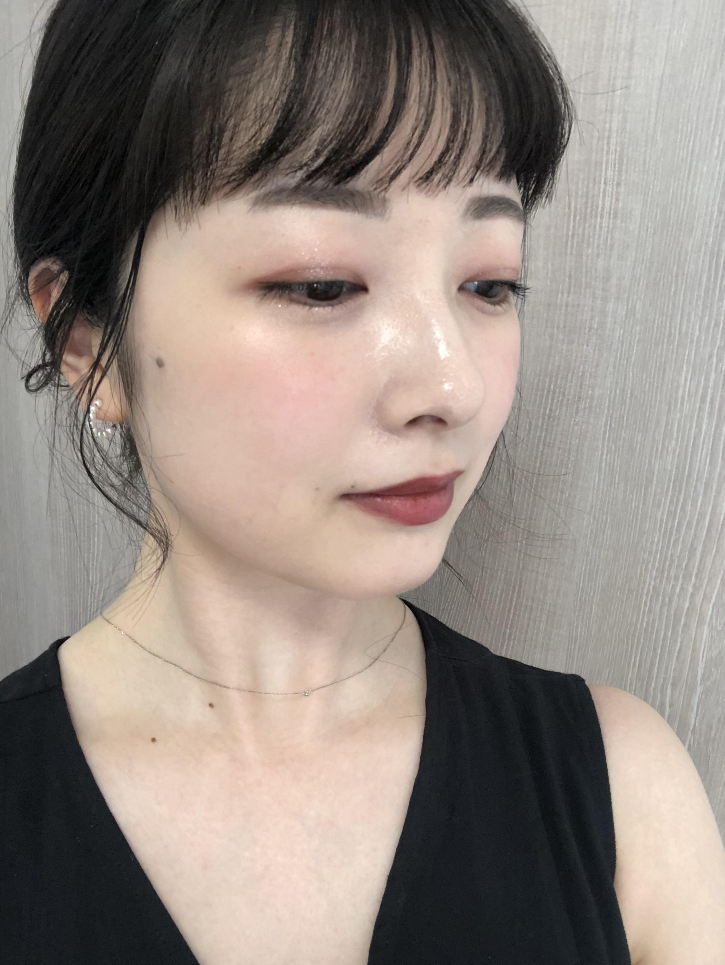 肌が白く見える♡夏も使える【ブラウンリップ】で女性らしい印象に!_3