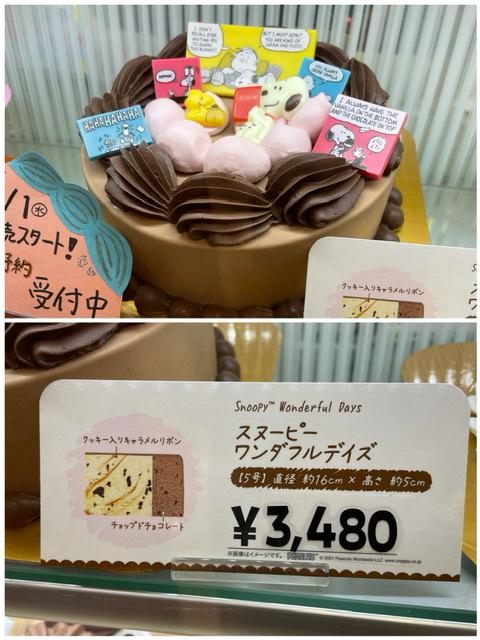 サーティワンで販売が始まったスヌーピーのアイスケーキ