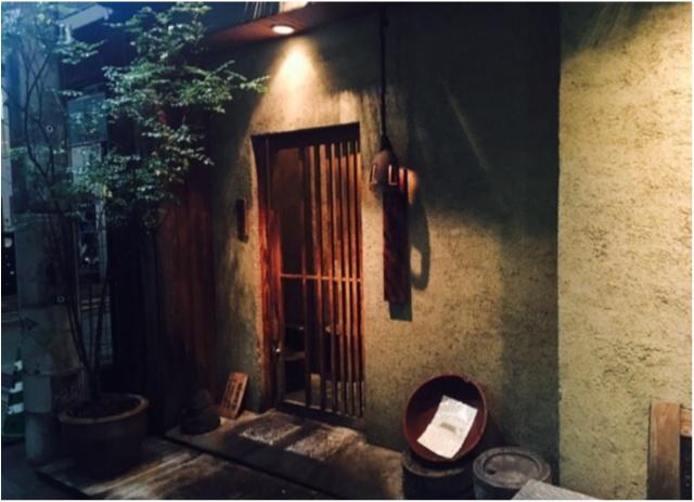 【恵比寿の隠れ家】モアハピOGさっちゃんとオシャレなお蕎麦屋さんデート♡_3