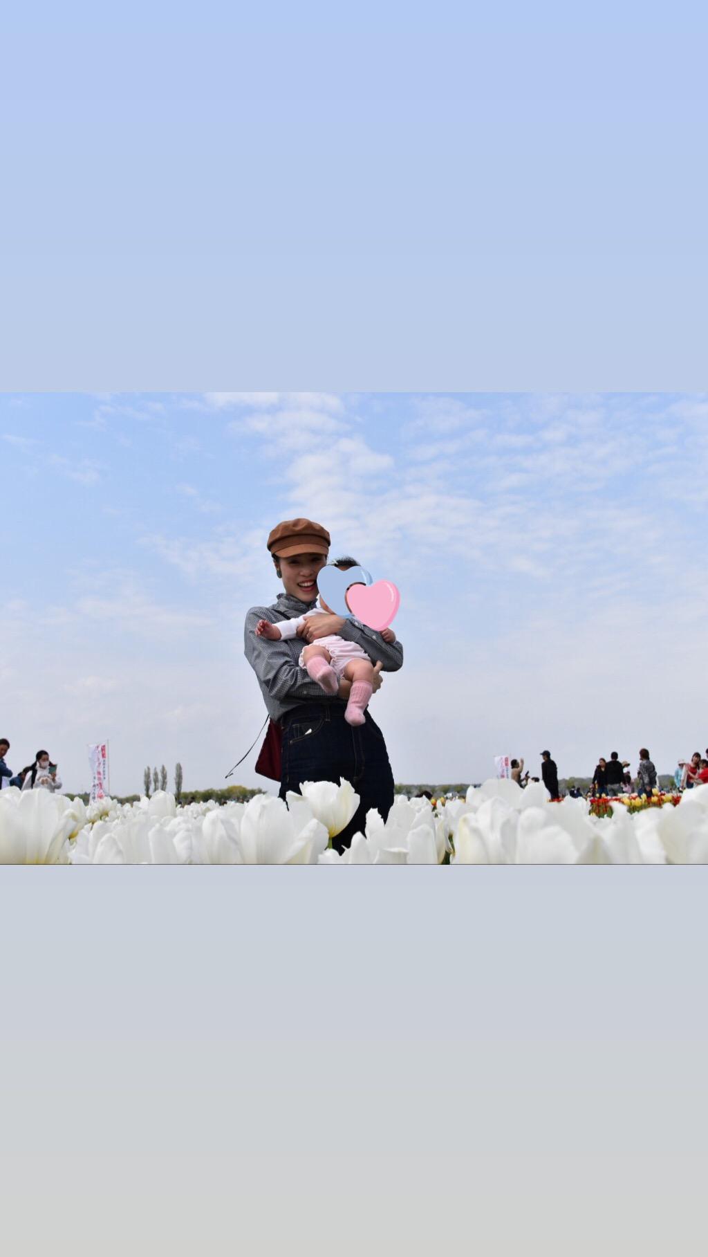 青空とチューリップ♡オランダ風車がシンボルの佐倉ふるさと広場へ!_4