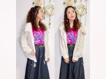 【オンナノコの休日ファッション】2020.9.17【うたうゆきこ】