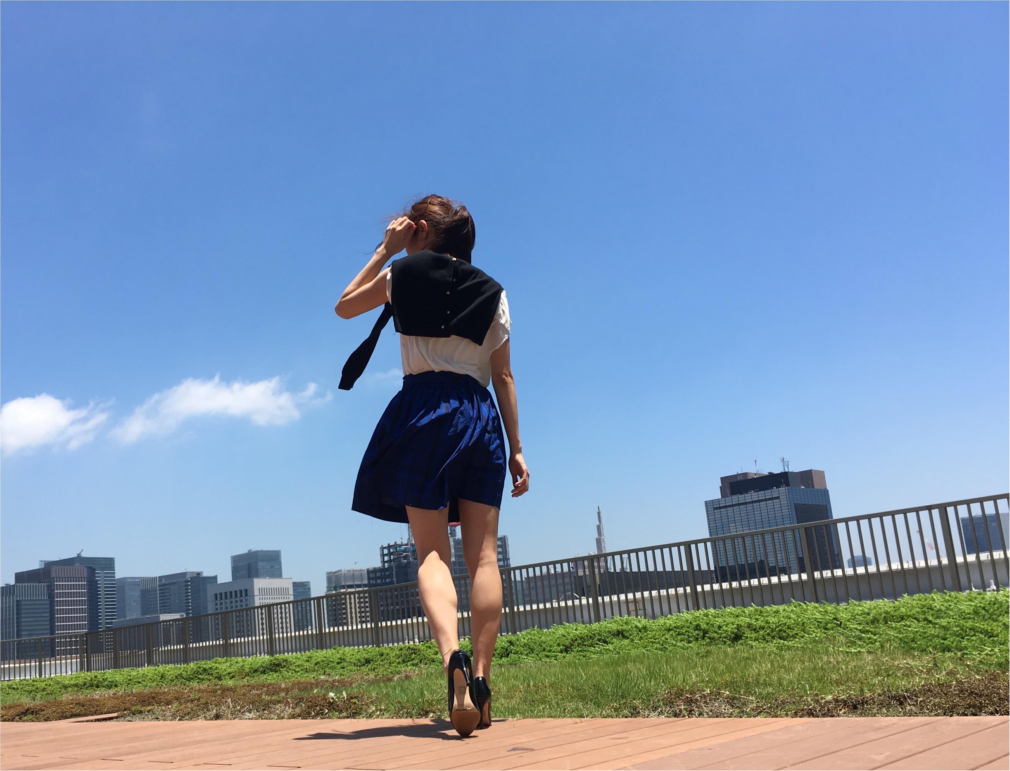 ▶▶≪RELAXX≫でヘアメンテと〈vis〉の白のトップスコーデ【はるな】_7
