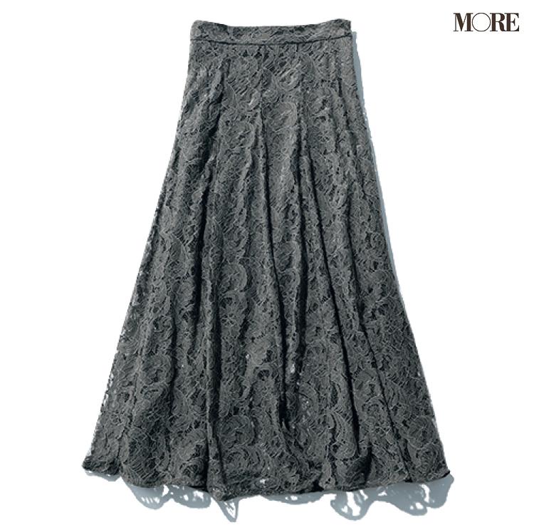 『mite』の洗えるマーメイドレーススカート