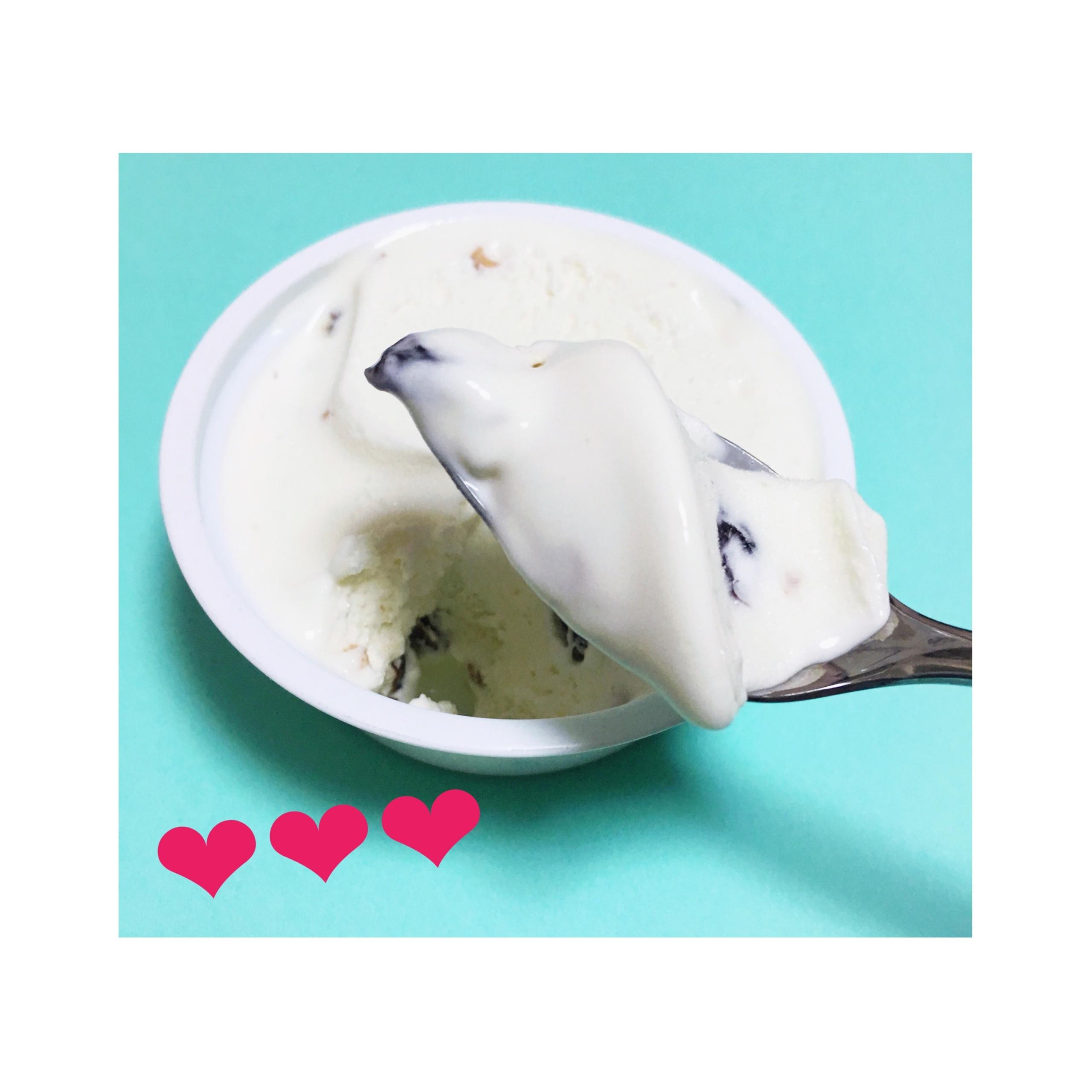 《11/28発売!LAWSON Uchi Cafe Sweets × kiriがコラボ★》【コンビニアイス】Cassata-ドライフルーツとナッツとチーズのアイス-がおいしい❤️_3