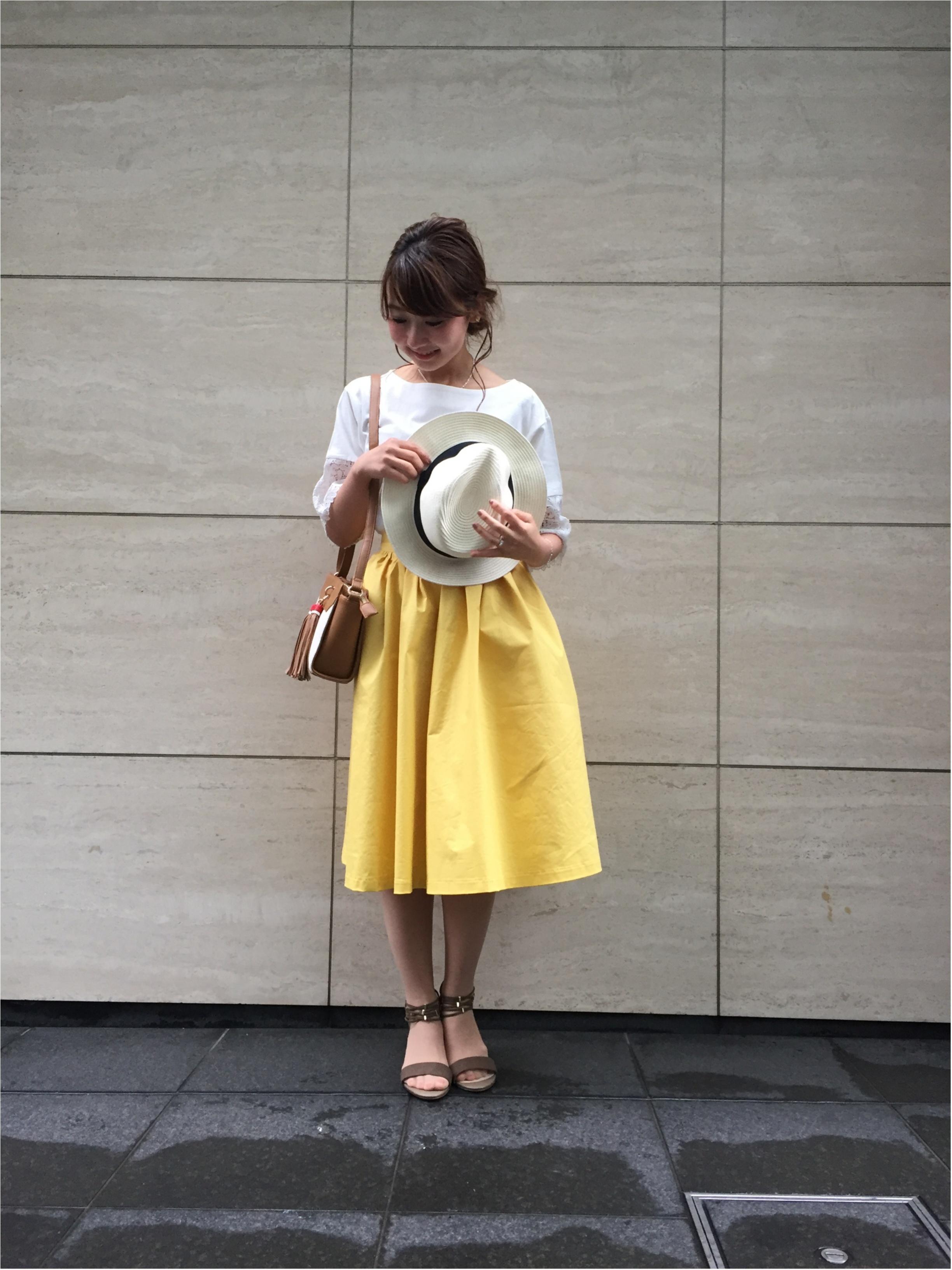 紫外線対策もオシャレにね♪【帽子】を使った春夏コーデまとめ♡_1_10