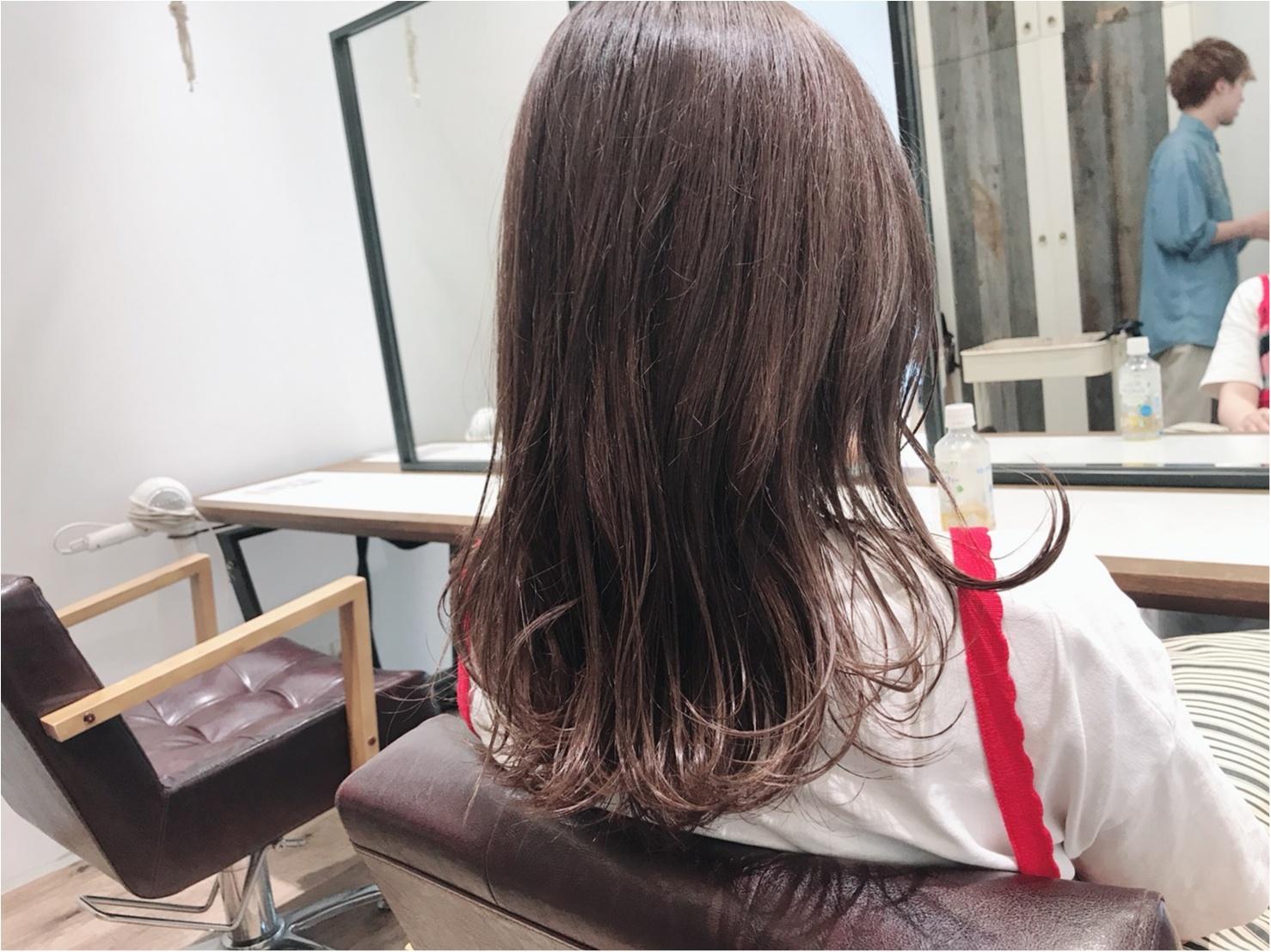 2018夏のトレンドヘアカラー!髪色変えたら透明感GETしたハナシ♡_3