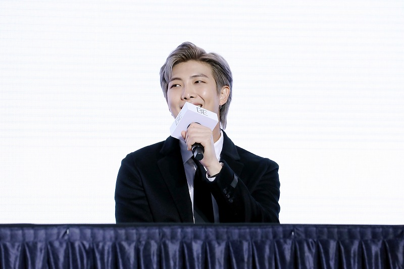 BTSのメンバー・RMさん