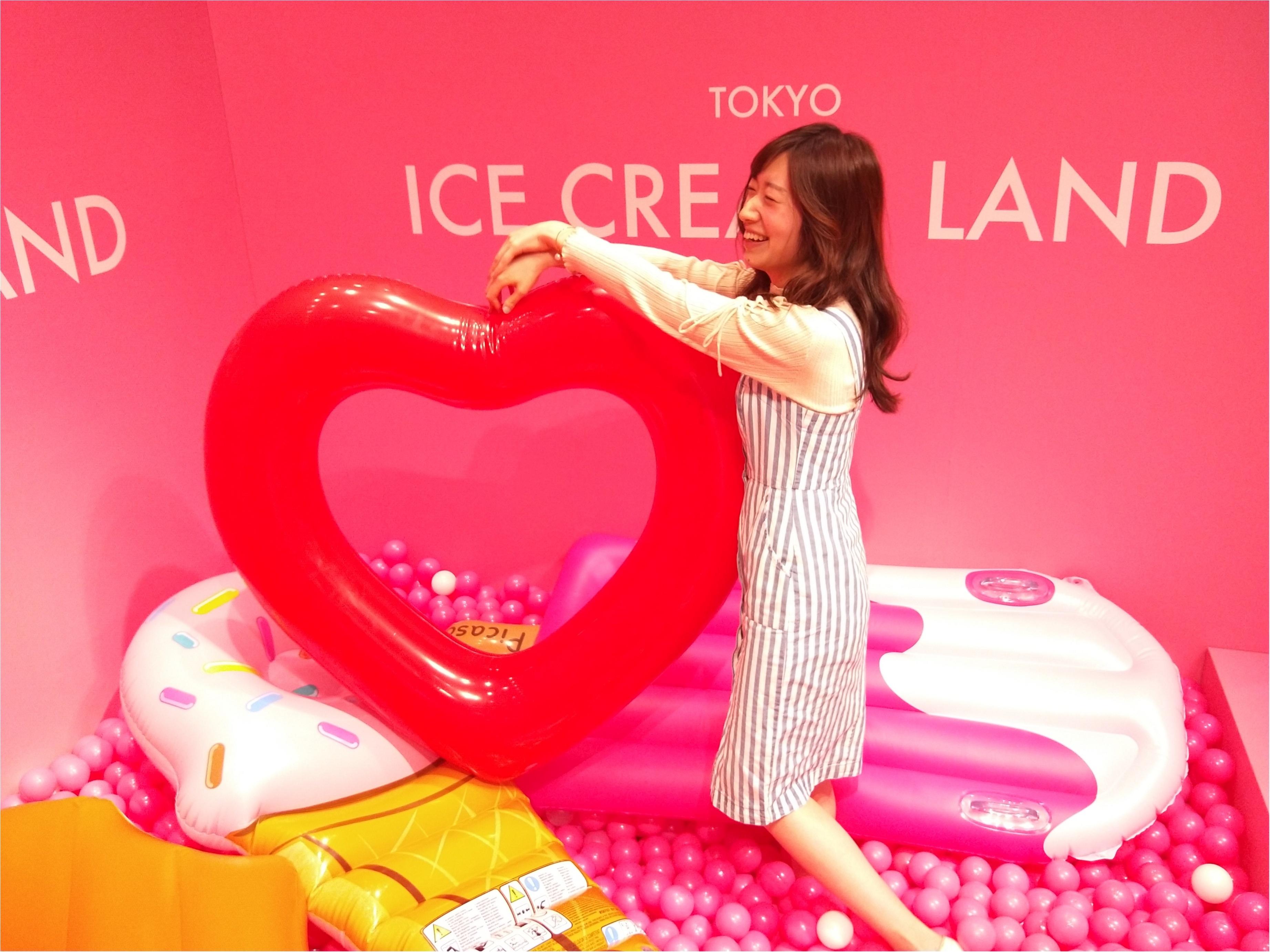 アイスクリームの夢の国「ICE CREAM LAND」でフォトジェニック空間を満喫♡横浜コレットマーレ5/27まで!_6_2