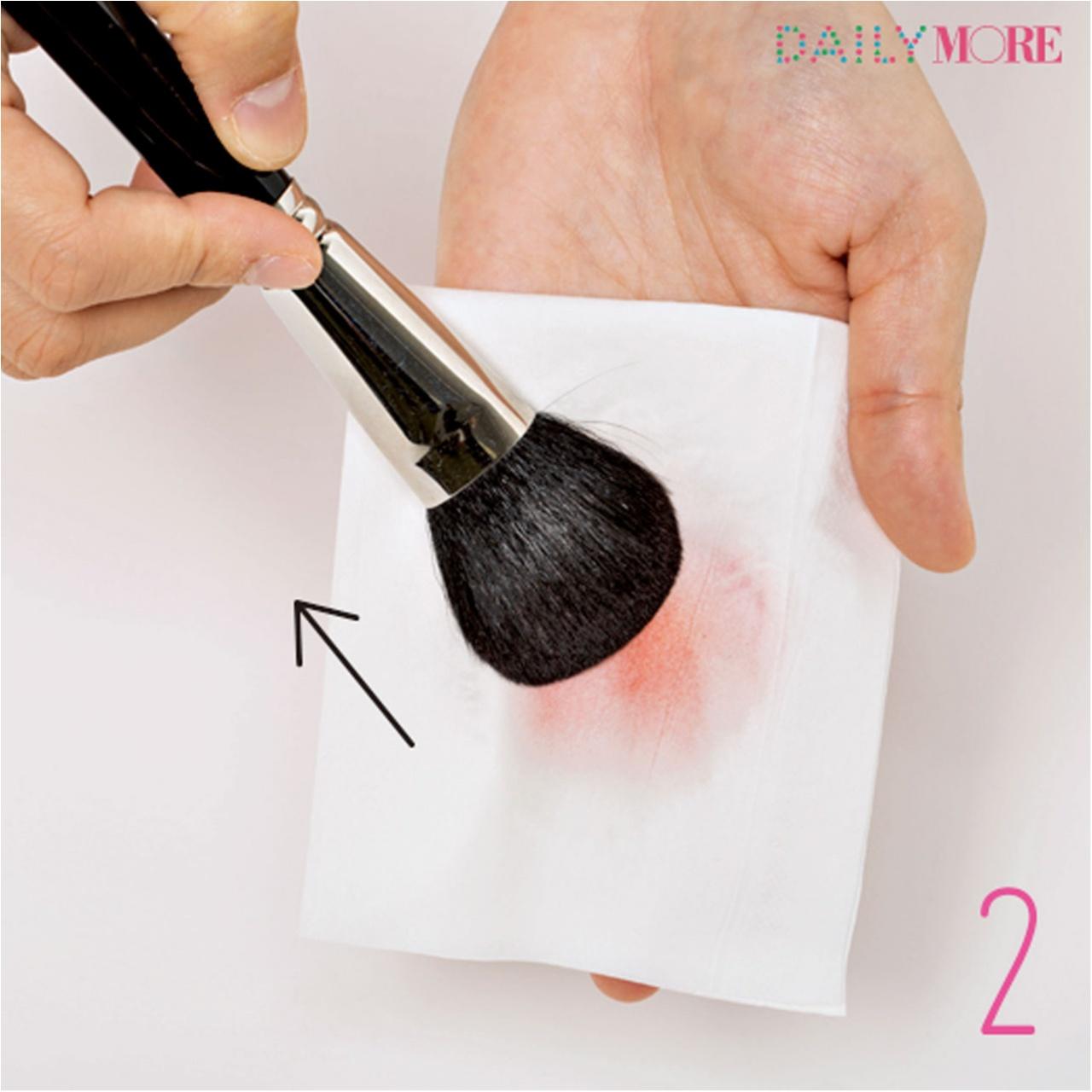 メイク用ブラシは粉の落とし方が重要!! 【メイクの汚道具、一斉お掃除大作戦!】_5