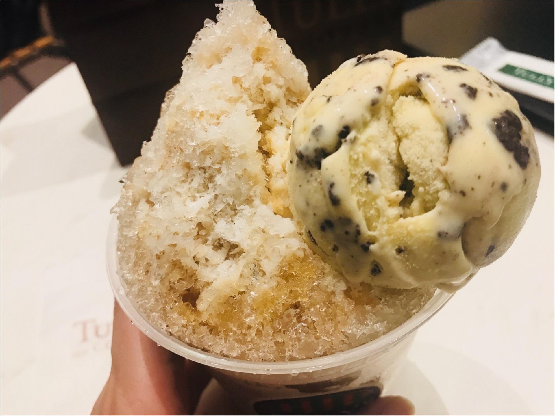 【Tully's】初めてタリーズでかき氷を食べてみた!《アイスラッシュ》が絶品だった♡_2