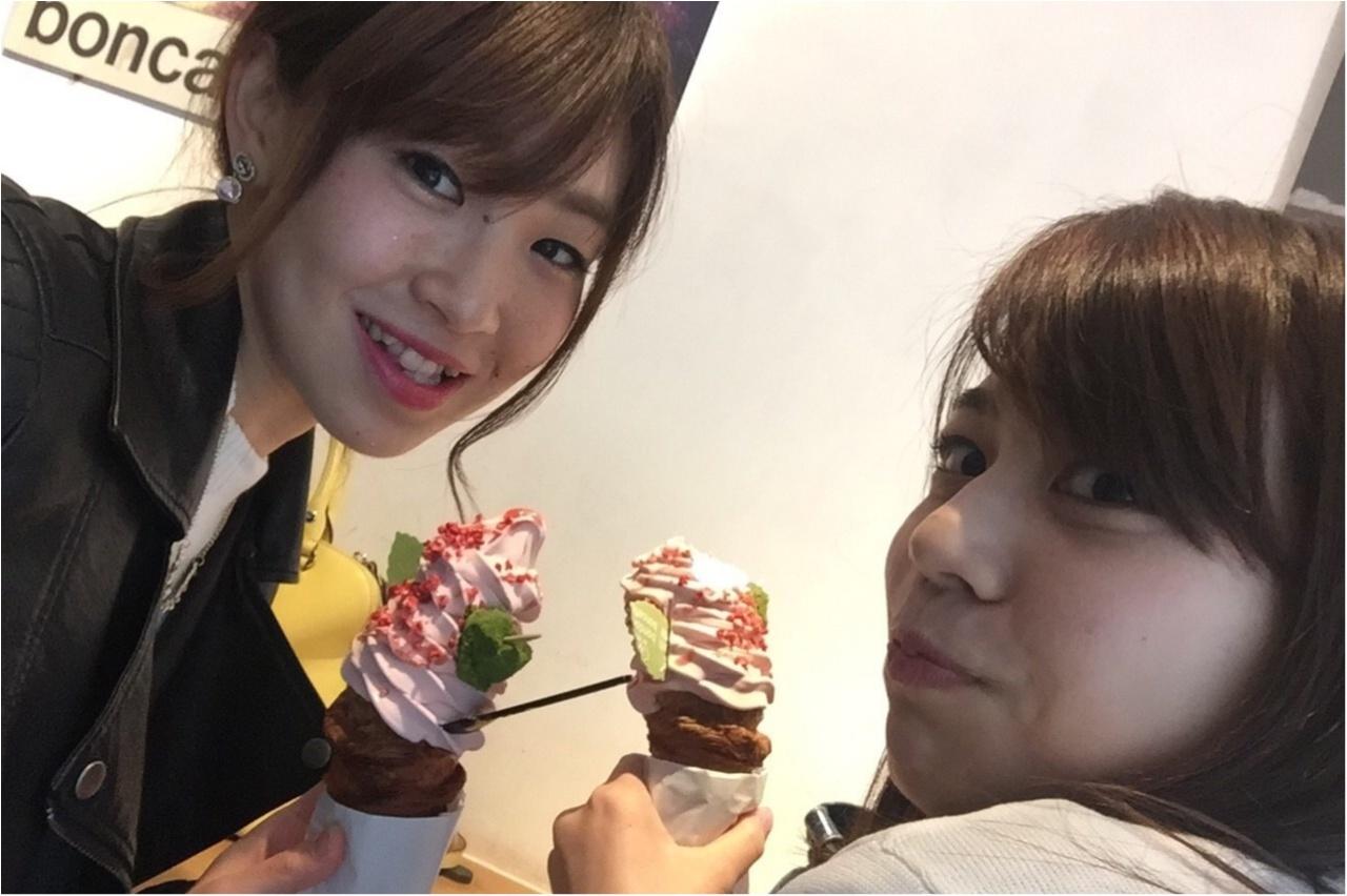 ★この時期オススメ、桜スイーツ♡ピンクな見た目がCUTEなソフトクリームは『bondolfi boncaffe』で楽しみましょう★_5