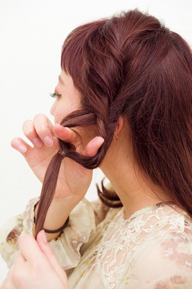 【美容師華アレンジ】大人可愛い!上品おだんごアレンジ_2