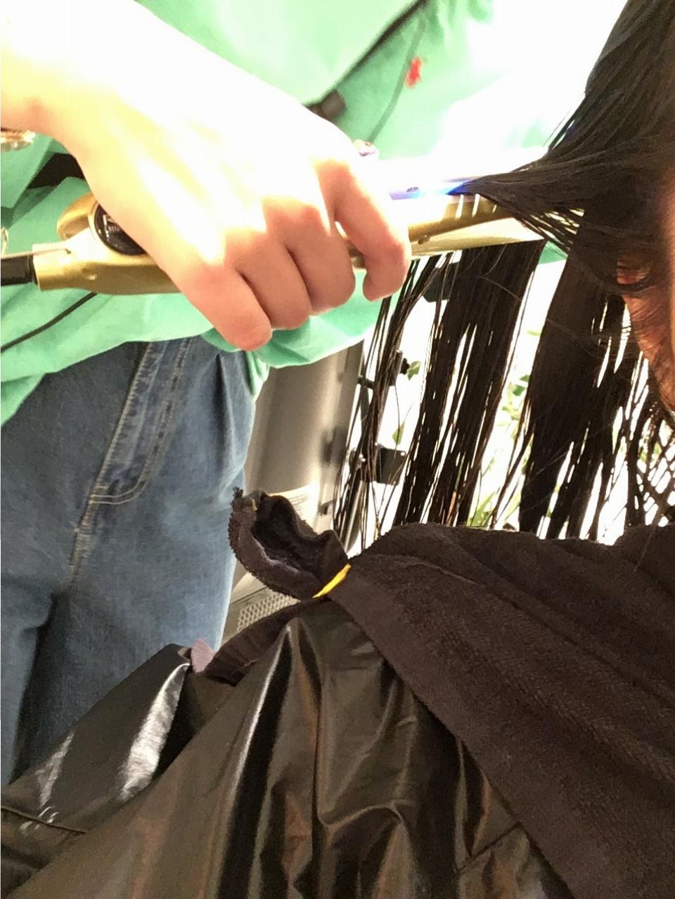 大人かわいい☆夏のヘアカラーはブルーサファイアで決まり!大人気のトリートメントもオススメ☆_3