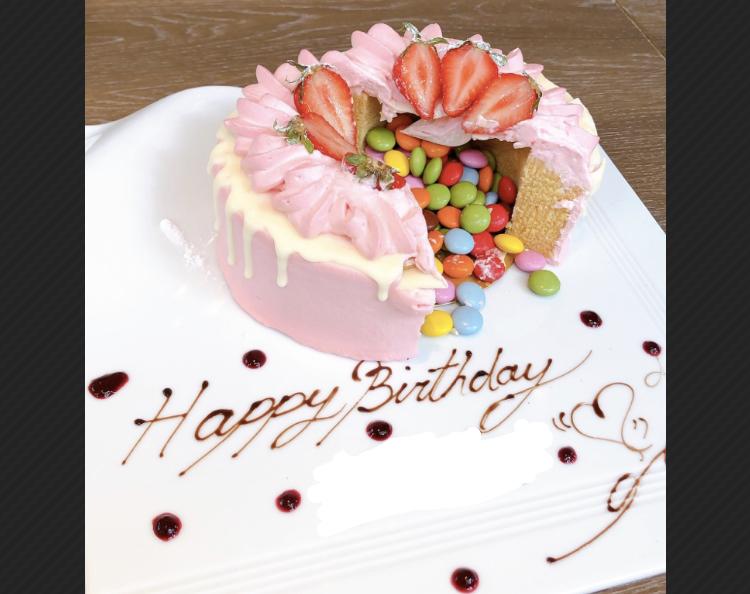 【気分はNY⁉︎ザ ストリングス 表参道】友人の誕生日祝い♪_7