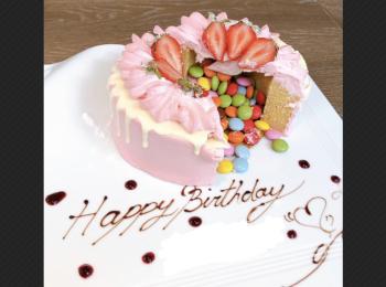 【気分はNY⁉︎ザストリングス表参道】友人の誕生日祝い♪