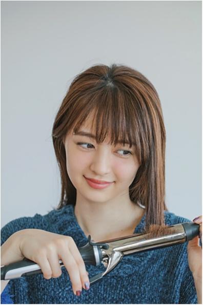 肌見せニットの日は、ハーフアップで上品×女っぽくが正解 記事Photo Gallery_1_2