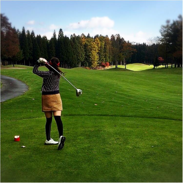 【GOLF】ゴルフでファッションを楽しむ♡秋晴れの中ラウンドしてきました!_4